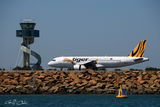 Picture relating to Sydney - titled 'Commercial aircraft at Sydney AirportSydney'