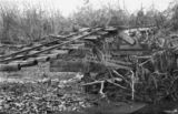Picture relating to Mossman - titled 'Millet's Bridge, Mossman, Queensland, after the 1911 cyclone'
