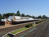 Picture relating to Cootamundra - titled 'Cootamundra Railway Station'