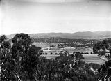 Picture relating to Mount Ainslie - titled 'Distant view of Old Parliament House from Mount Ainslie'