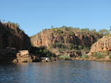 Picture relating to Katherine Gorge - titled 'Top of the first gorge'