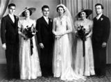 Picture relating to Queensland - titled 'Marr family wedding, 1940-1950'