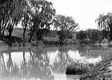 Picture relating to Canberra - titled 'View of Canberra Golf Links, Molonglo River in front.'
