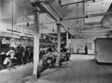 Picture relating to Brisbane - titled 'Interior of Brisbane Central Telephone Exchange, Brisbane, Queensland, 1903'