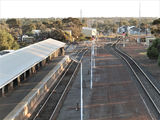 Picture relating to Kalgoorlie - titled 'Kalgoorlie railway station looking west'